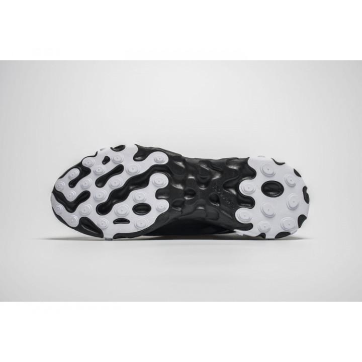 Nike React Element 87 чорні з білим новий колір