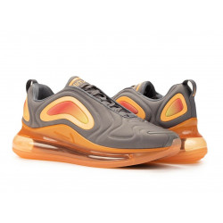 Nike air max 720 Guns Smoke/Fuel Orange