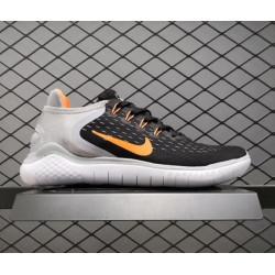 Nike free rn 5.0 black/orange