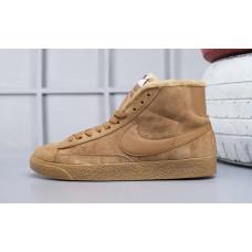 Nike Blazer Mid VNTG Suede Зимние песочные
