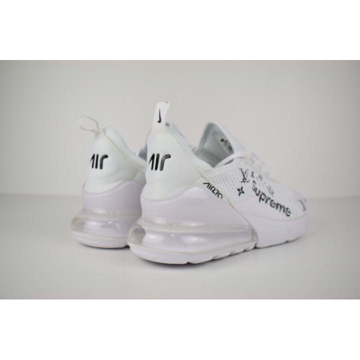Nike Air Max 270 белые суприм в наличии