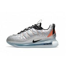 Nike air max 720-818 metallic silver black total orange