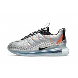 Nike air max 720-818 metallic silver black total orange