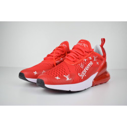 Nike Air Max 270 supreme x LV красные