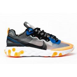 Nike React Element 87 Grey Orange