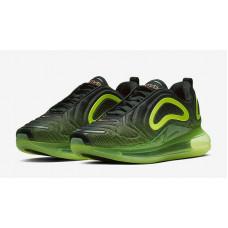 Nike air max 720 BLACK VOLT NEON GREEN LIME