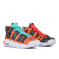 Nike Air More Uptempo What The 90s Pack Total Orange Hyper Jade