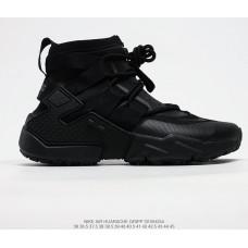 NIKE AIR HUARACHE GRIPP QS all black