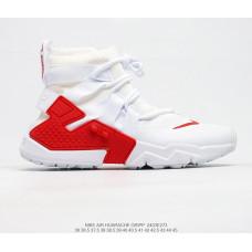 NIKE AIR HUARACHE GRIPP QS white red