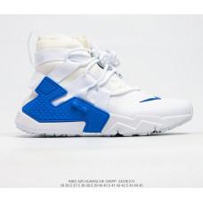 NIKE AIR HUARACHE GRIPP QS white blue