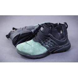 Nike Presto Mid Suede black/green весна/осень