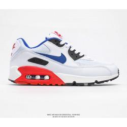 Nike Air Max белые с синим лого