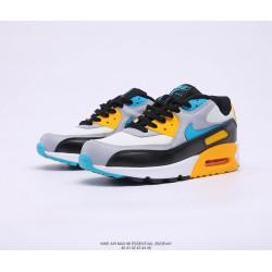 Nike Air Max 90 Essential желтая пятка