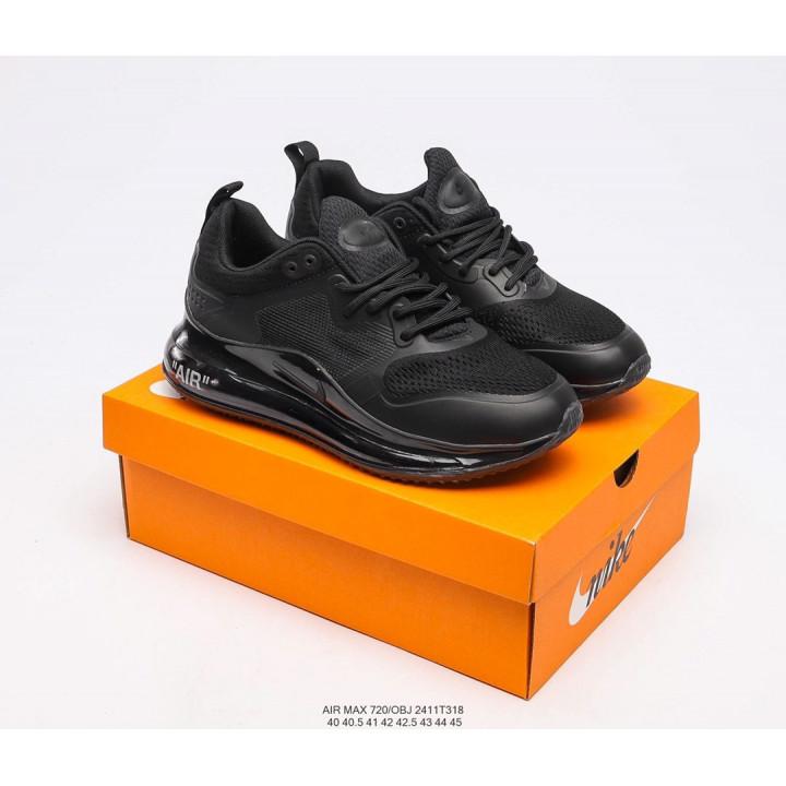Кроссовки Nike Air, Max 720 OBJ черный в наличии