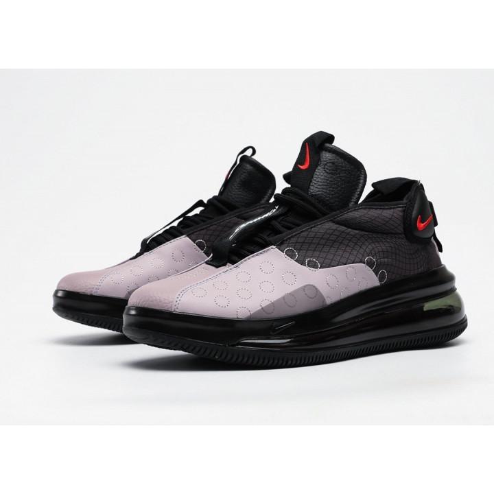 Кроссовки Nike Air Max 720 Waves, черный серый