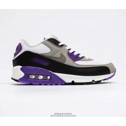 Nike Air Max 90 белый серый фиолетовый