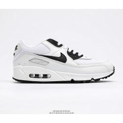 Nike Air Max 90 белый с черным лого