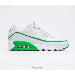 Nike Air Max 90 белый с зеленым