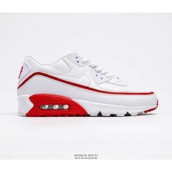 Nike Air Max 90 белый с красным