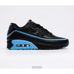 Nike Air Max 90 черный с синим