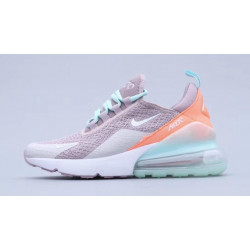 Nike Air Max 270 Cream Green Orange logo 2020