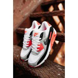 Nike Air Max 90 orange/grey/white