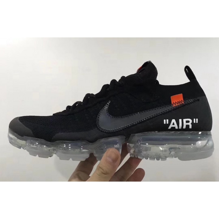 Кроссовки, Nike Air VaporMax Off White black