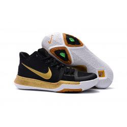 Nike Kyrie Irving 3 черные с золотым