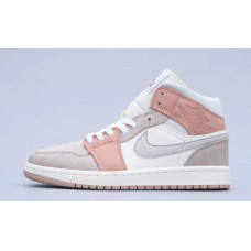 Air Jordan 1 Mid AJ1 Cream