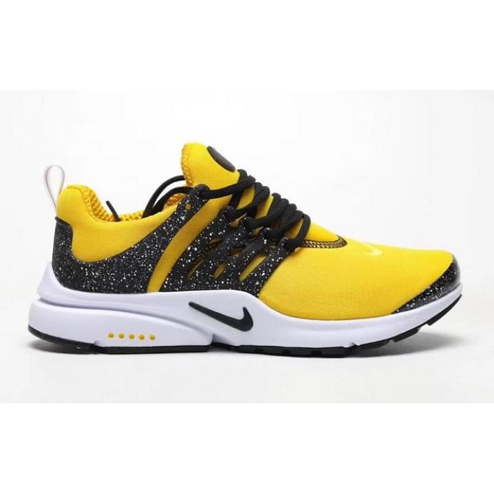 Кроссовки Nike presto, желтый верх гранит