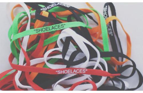 Шнурки Virgil Abloh x Nike «The Ten»