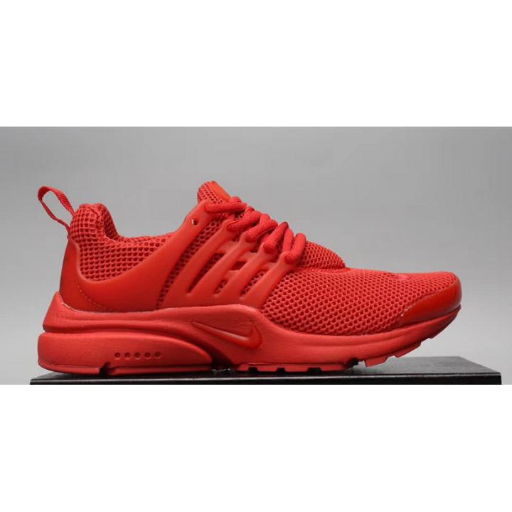 Кроссовки Nike presto, красные