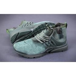 Nike Presto Mid Suede dark/green весна/осень