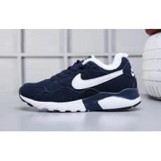 Nike air pegasus 92/16 с мехом кроссовки синие
