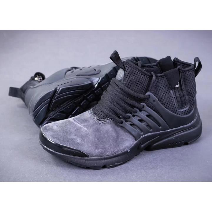 Кроссовки Nike Presto Mid Suede серые