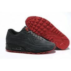 Nike Air Max 90 VT с мехом серые с красным