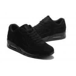 Nike Air Max 90 VT с мехом черные