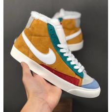 Nike Blazer Mid 2019 Suede Зимние orange