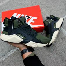 Nike Huarache Winter Acronym haki