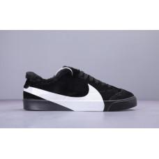 Nike Blazer Low SD Suede Зимние низкие чорні