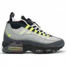 Nike Air Max 95 Sneakerboot Green Neon Grey