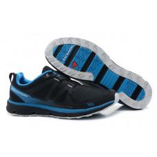 Salomon S-WIND черные с синей полоской
