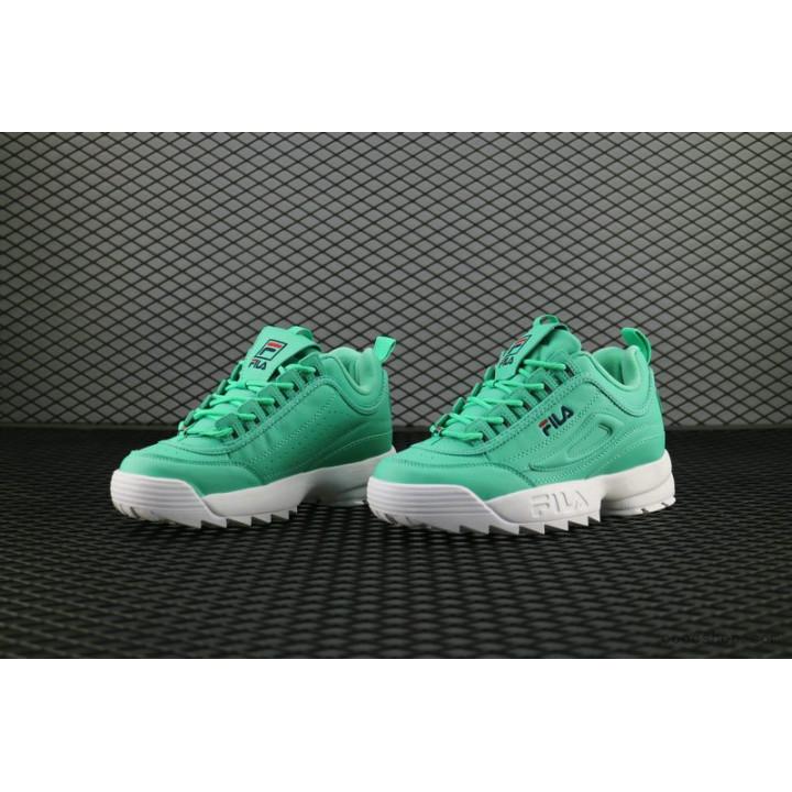Кроссовки Fila Disruptor зеленые