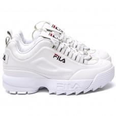 FILA Disruptor II All White Original