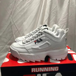 Fila Disruptor white winter