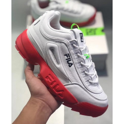 Fila Disruptor White Red