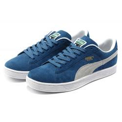 Puma Suede Skateboard Classic темно синие с белым