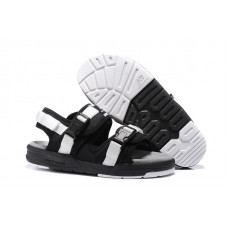 Сандалии New Balance SD3205BK Velcro белые с черным
