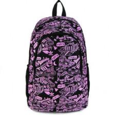 Рюкзак Adidas фиолетовые надписи