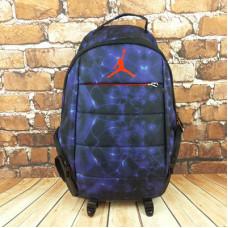 Рюкзак jordan синие разводы